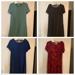 EUC Carly dress bundle XS/S